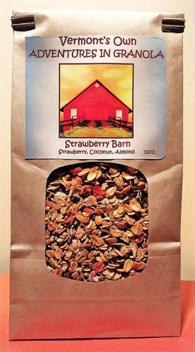 A package of our Strawberry Barn Granola