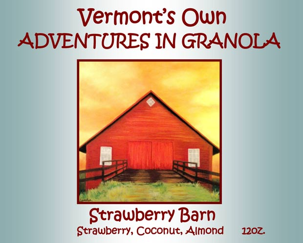 Strawberry Barn Granola